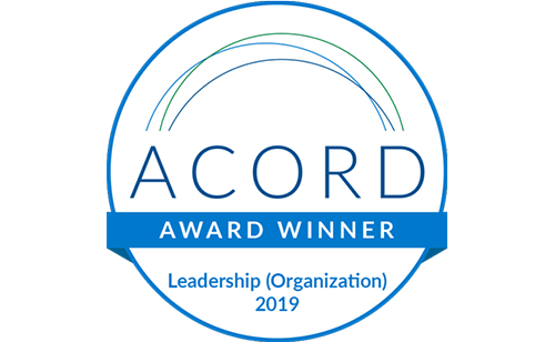 ACORD Leadership Organization Award Badge