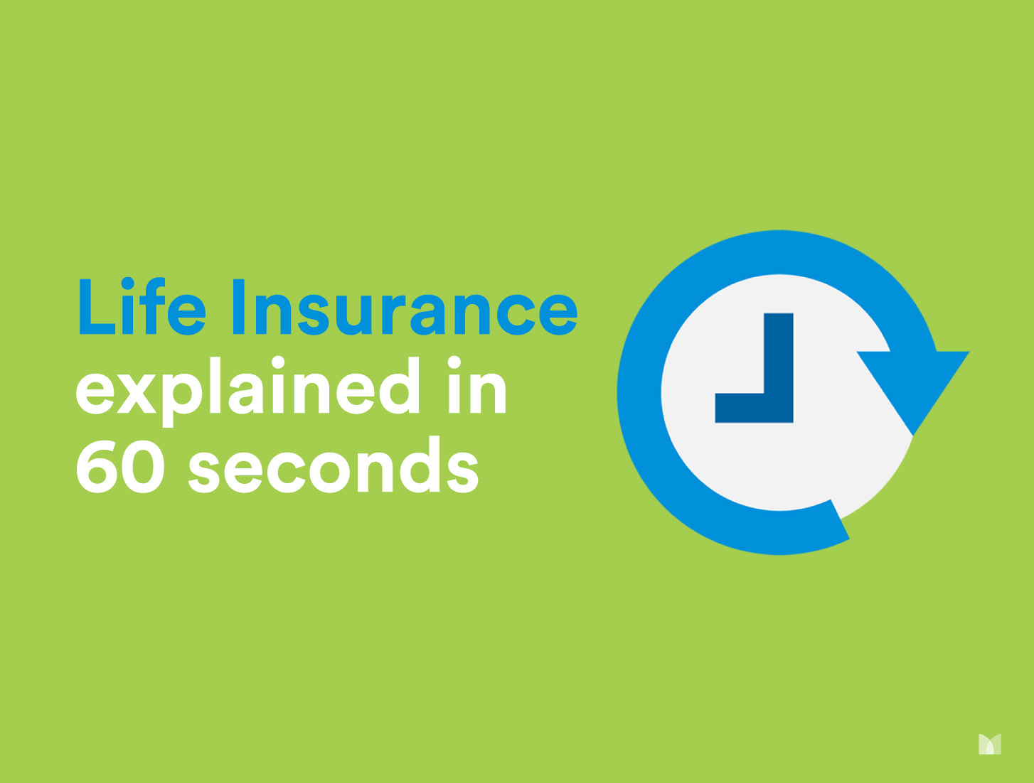 Life Insurance Explained in 60 Seconds