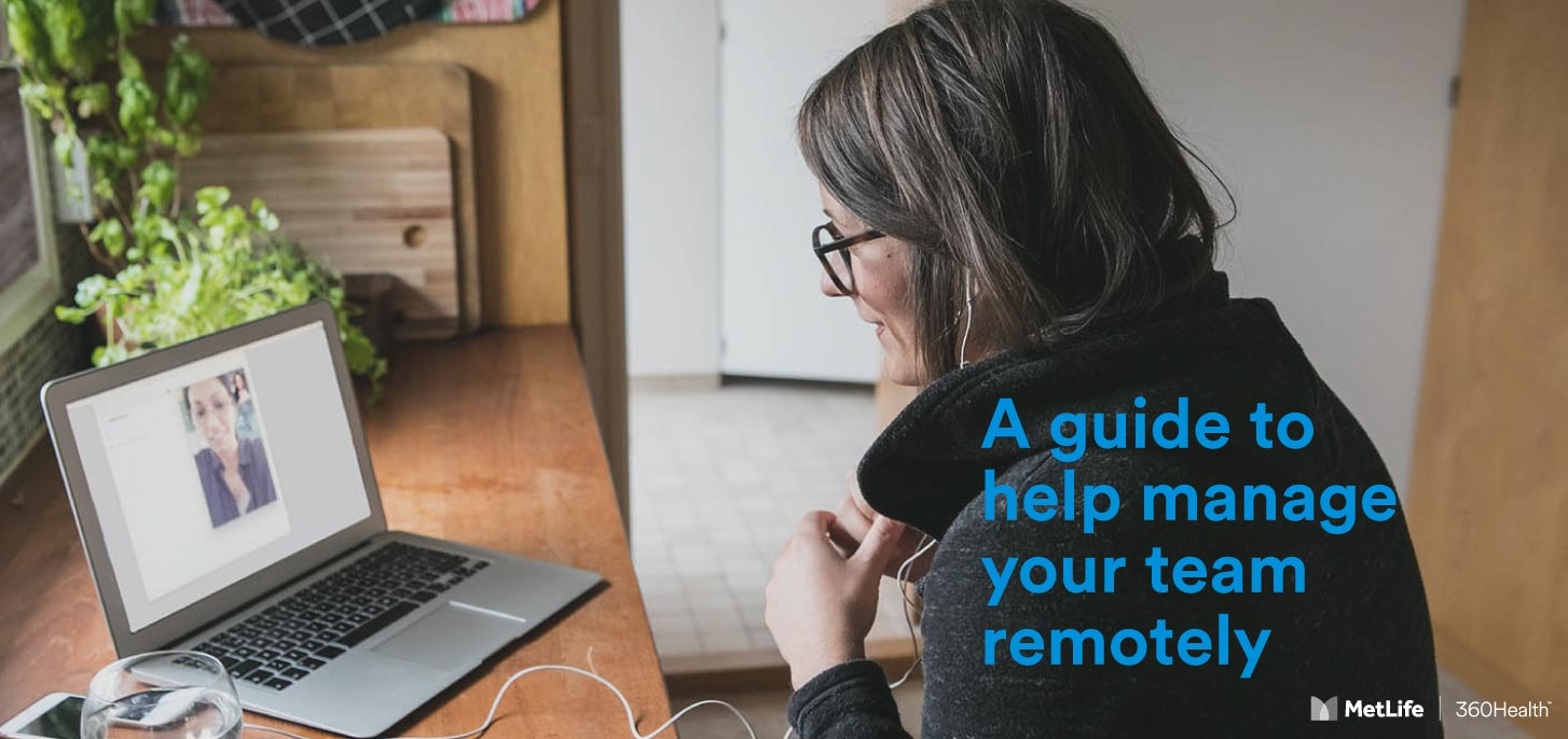 Managing your team remotely