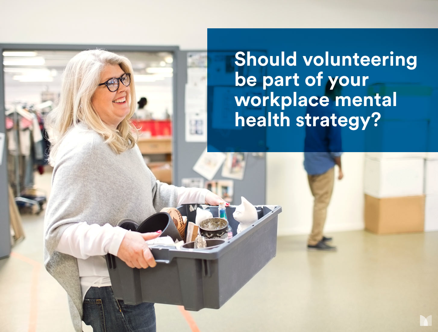 Should volunteering be part of your workplace mental health strategy?