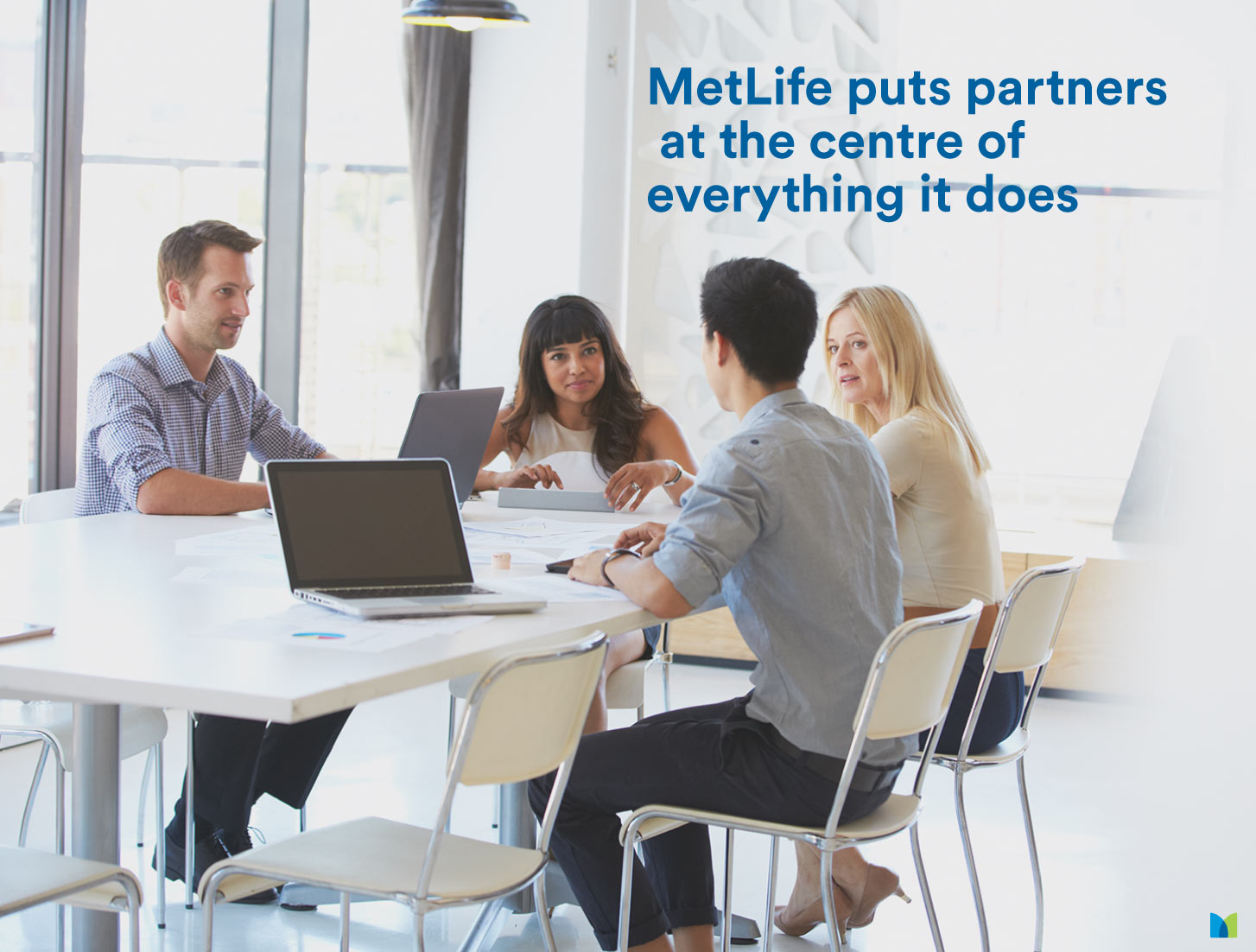 MetLife puts its partners at the centre of everything it does