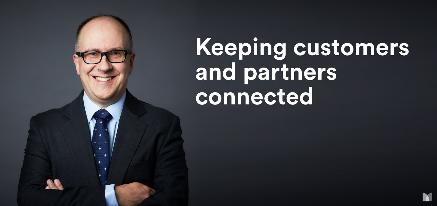Keeping customers and partners connected