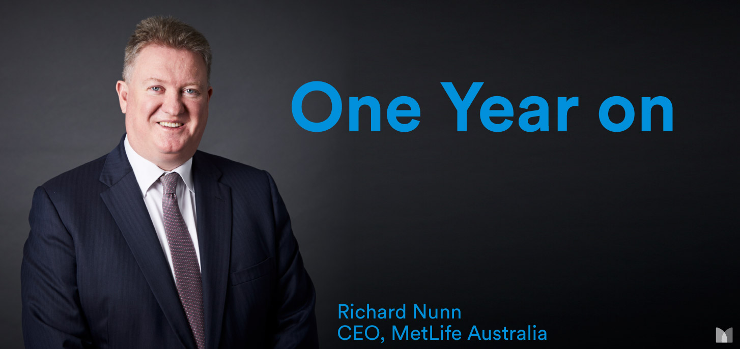 Richard Nunn One Year on