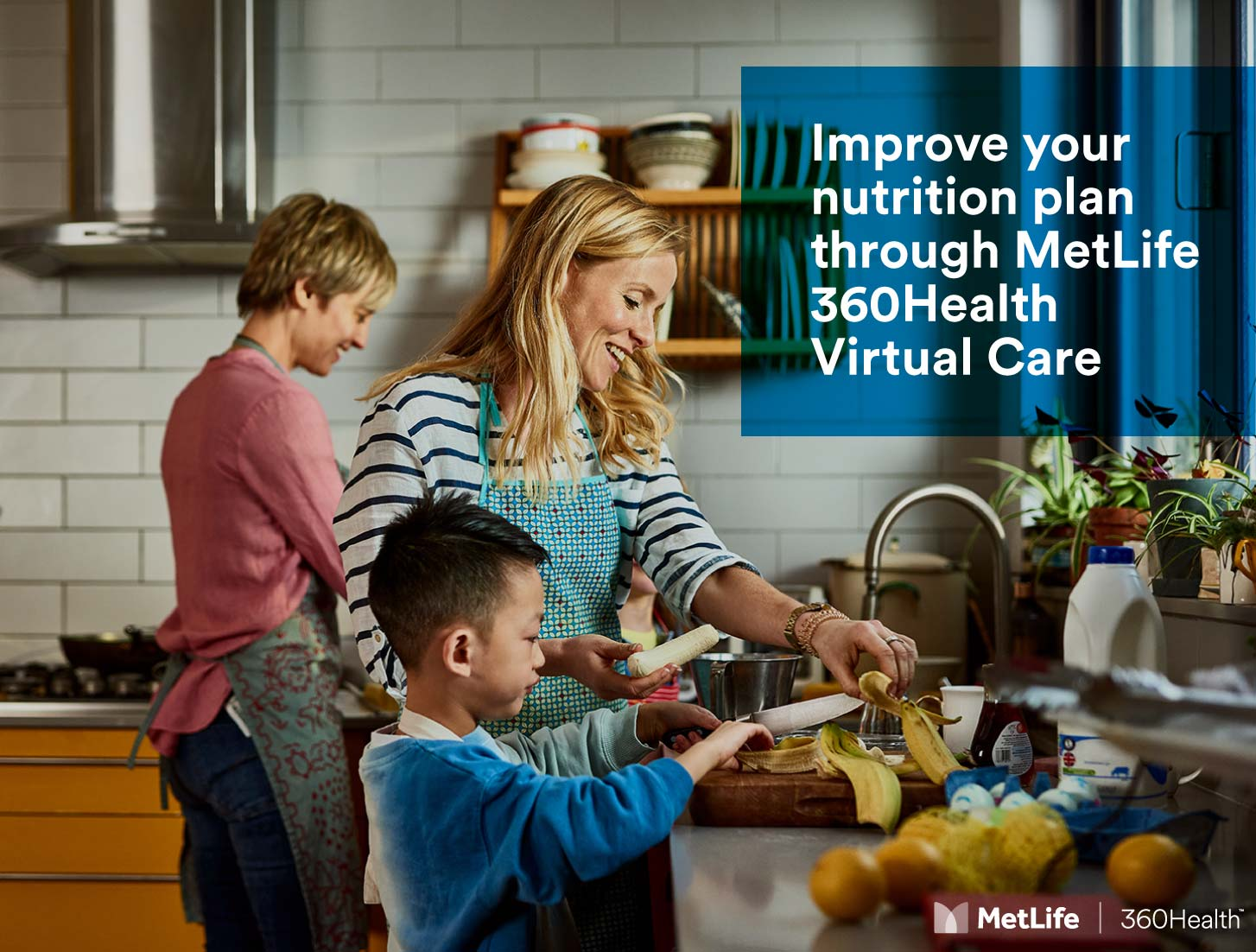 Improve your nutrition plan through MetLife 360Health Virtual Care