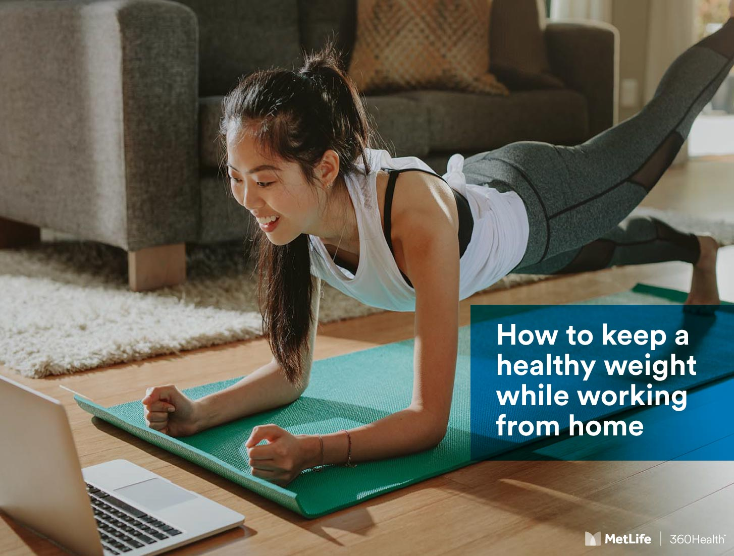 How to keep a healthy weight while working from home