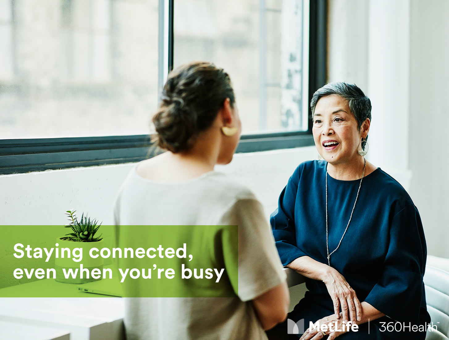 Staying connected, even when you're busy