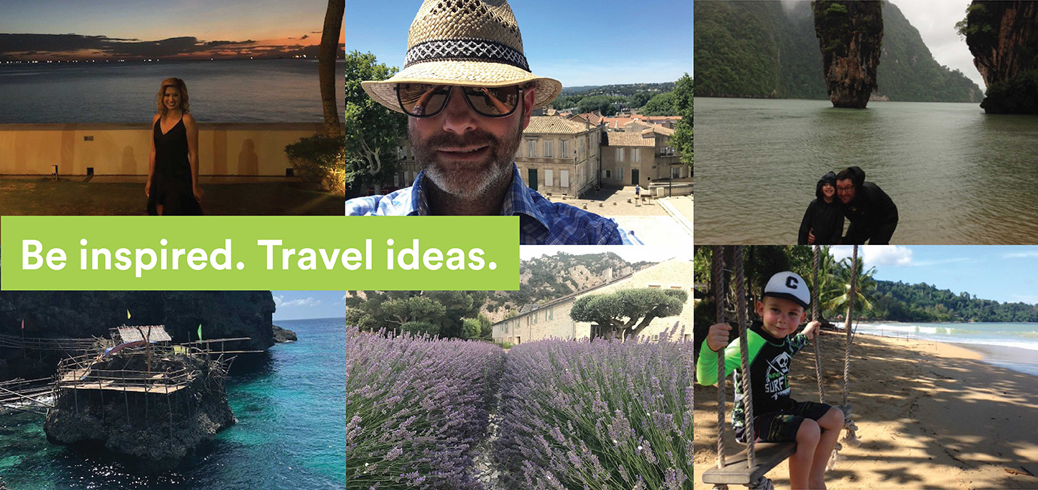 Be inspired - travel ideas for 2019